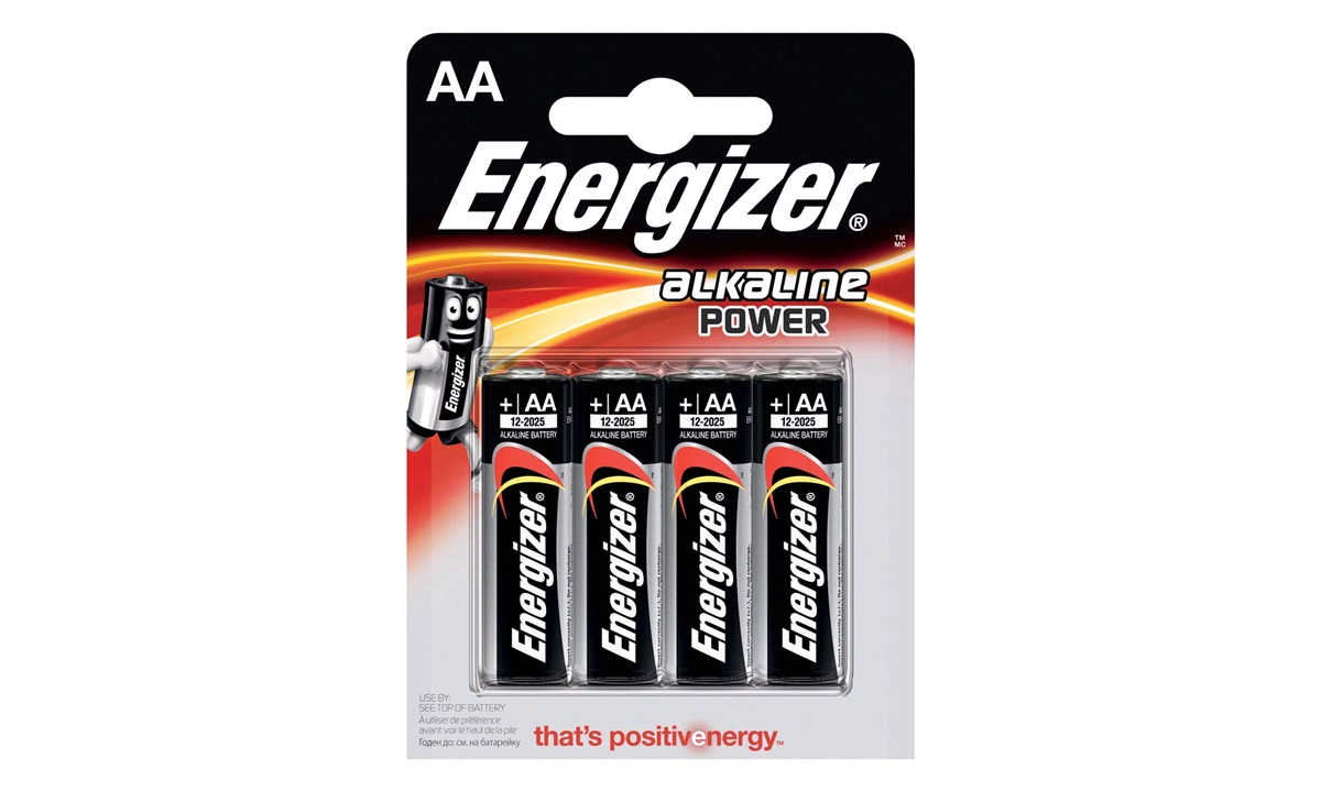 Alkaline batteri AA 4-pak Energizer