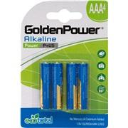 Alkaline batteri AAA LR03 4-pak Tecxus
