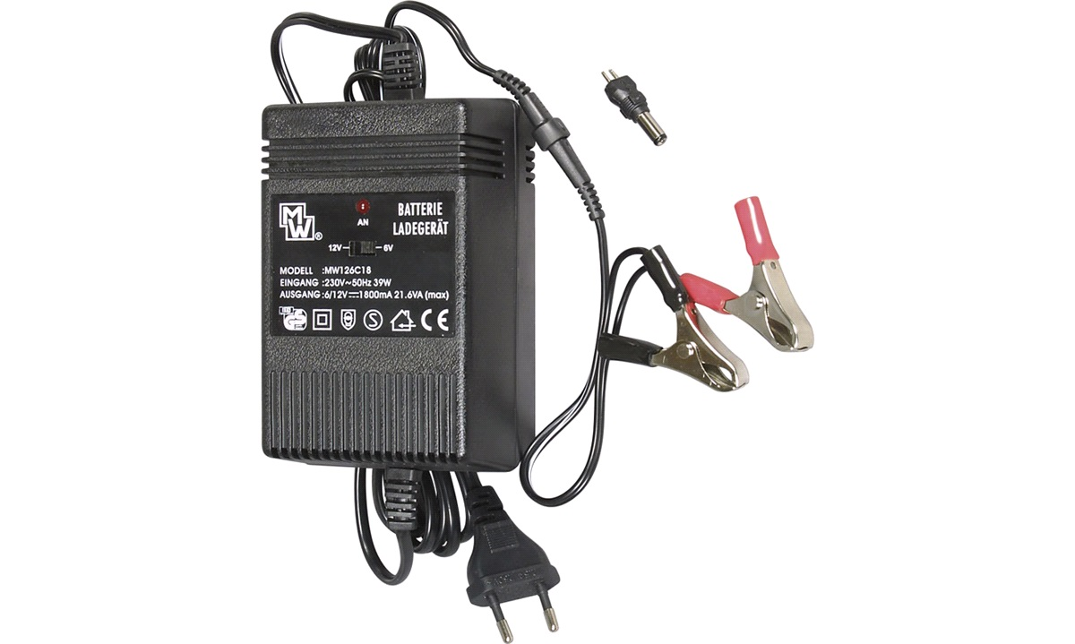 Batterioplader til blybatteri 6/12 V