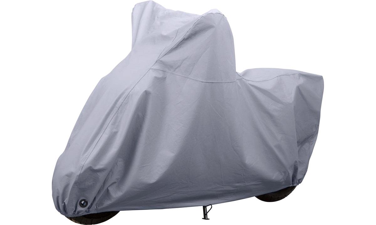 Luksusgarage til scooter/knallert, grå
