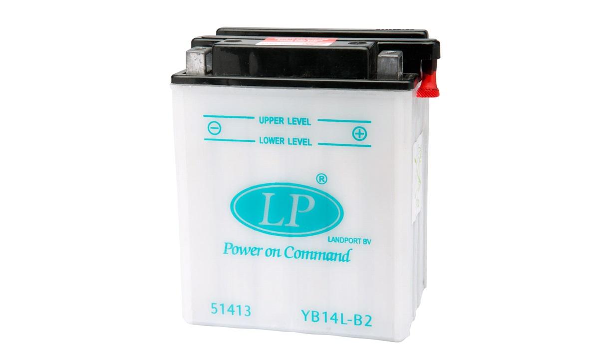 Batteri 12V-14Ah YB14L-B2, GSX750F 89-97