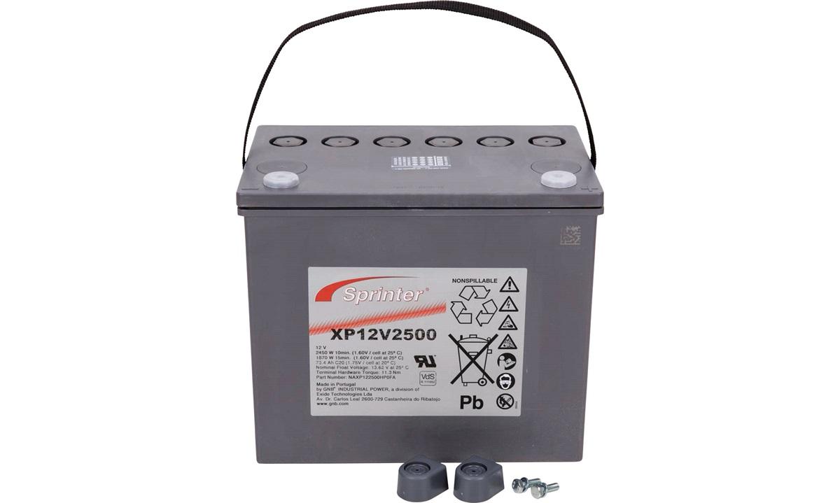 Batteri Exide AGM 12V 75Ah