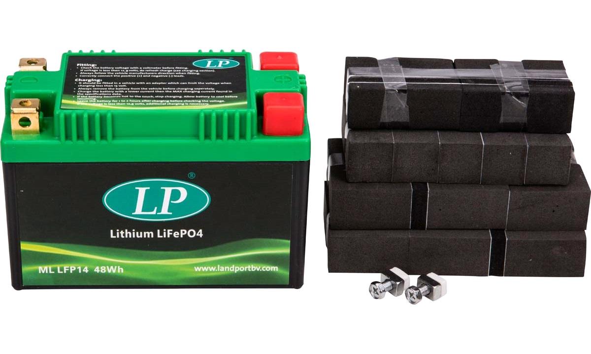 Litiumbatteri LP 12V-4Ah, GSF1250 07<