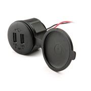 USB lader 12V til scooter/MC vandtæt