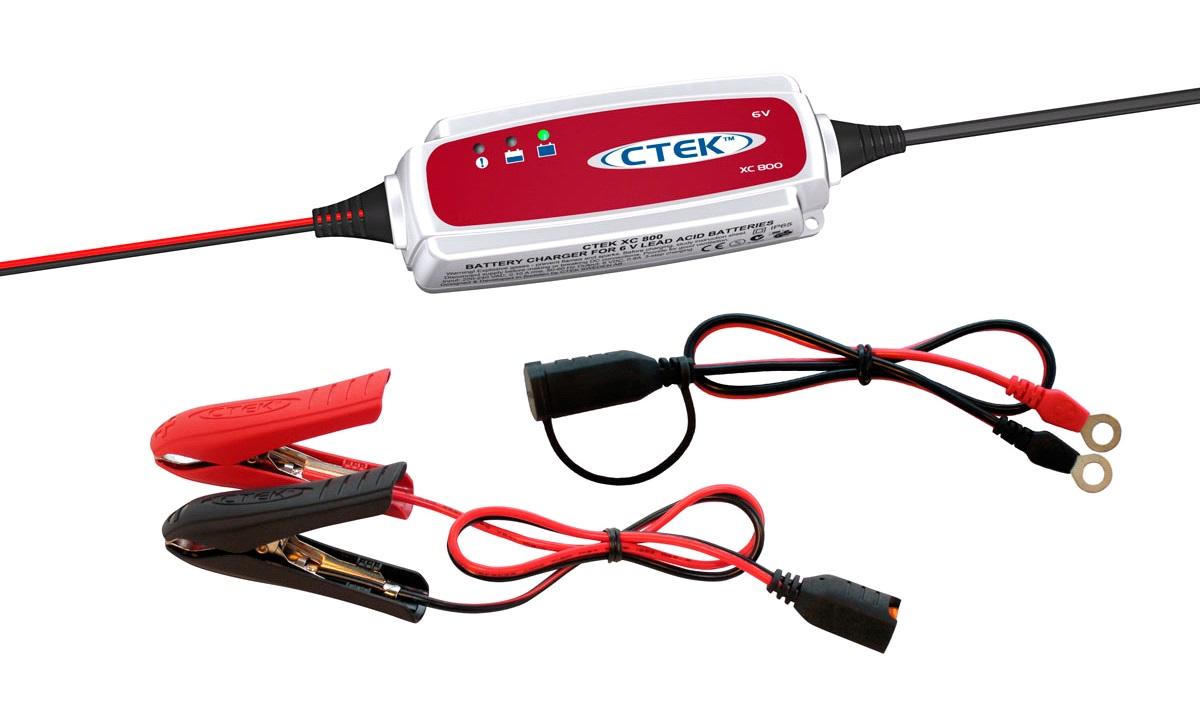 CTEK Batterilader XC800 6V 0,8A