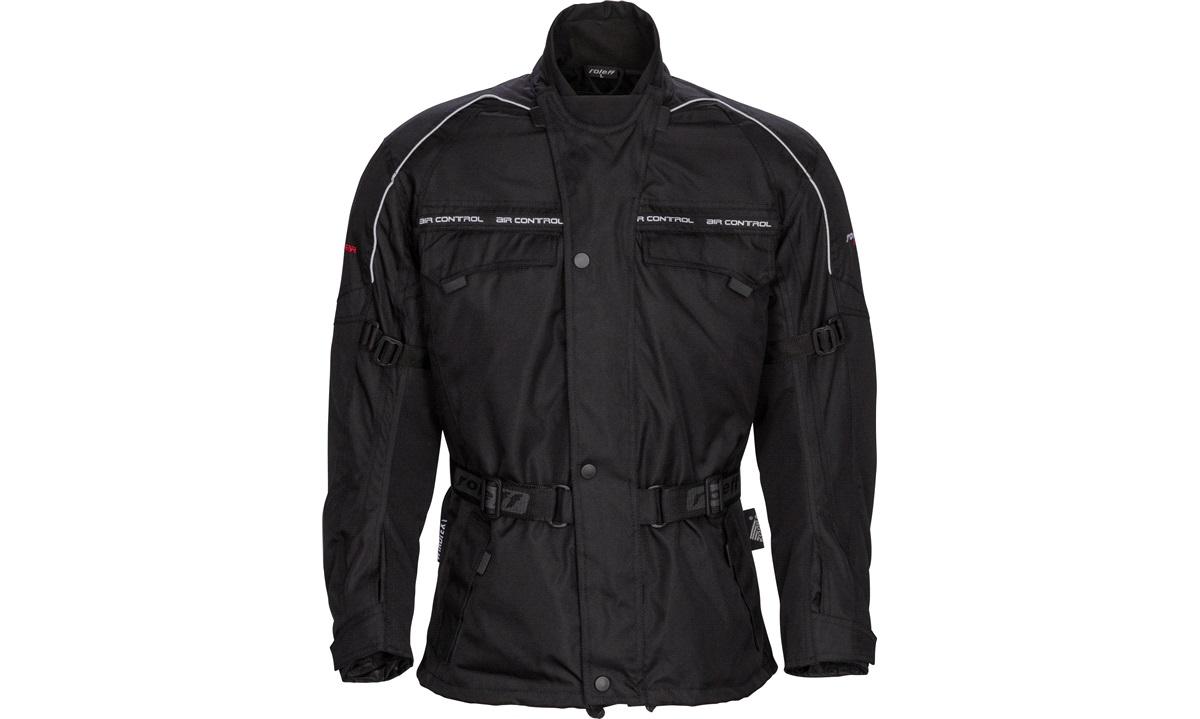 Roleff Softshell jakke kort sort X large Tekstil thansen.no