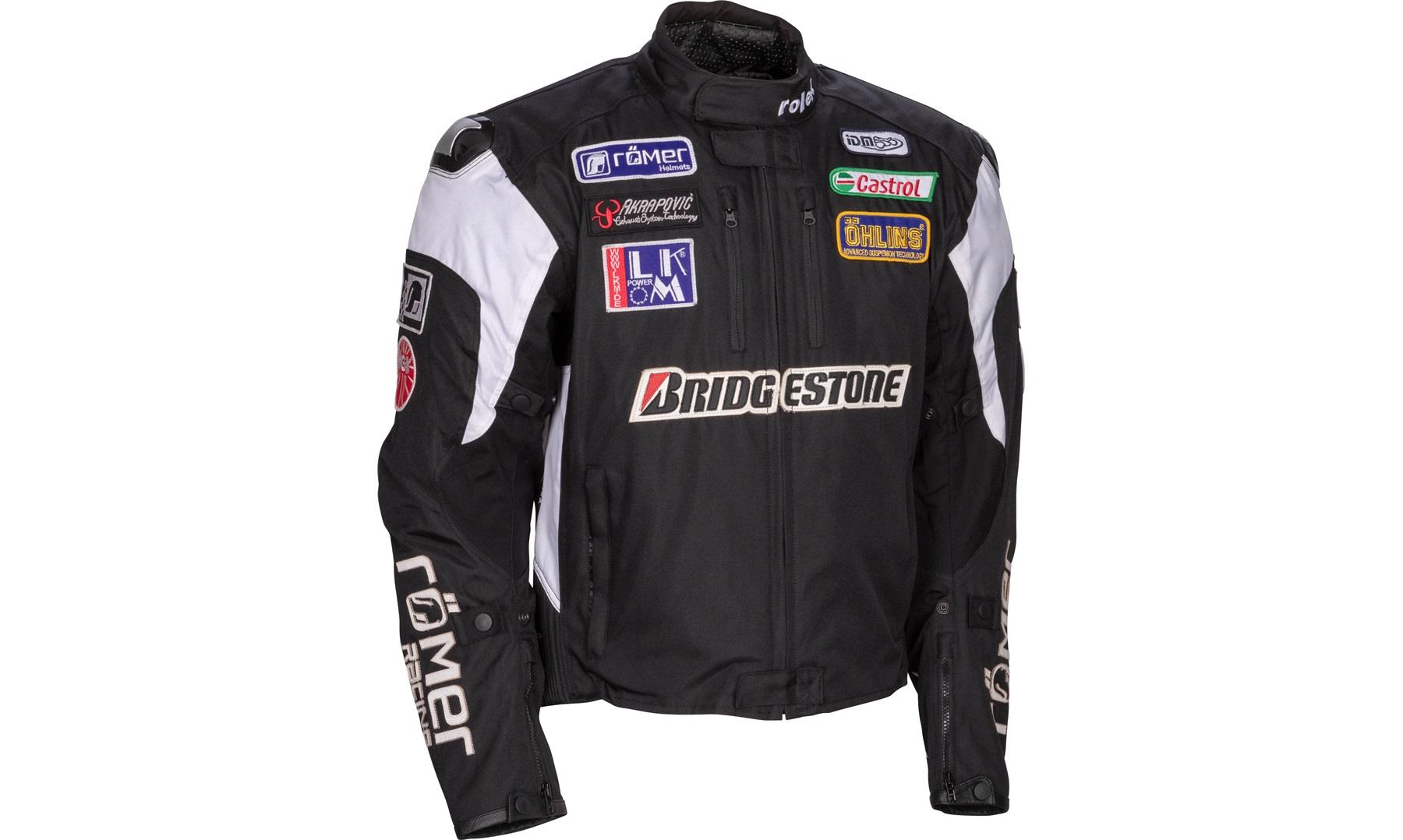 Roleff sponsor jakke, kort sort medium Tekstil thansen.no