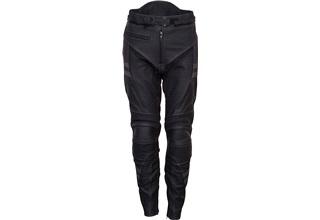 Outtrek læder sort/grå