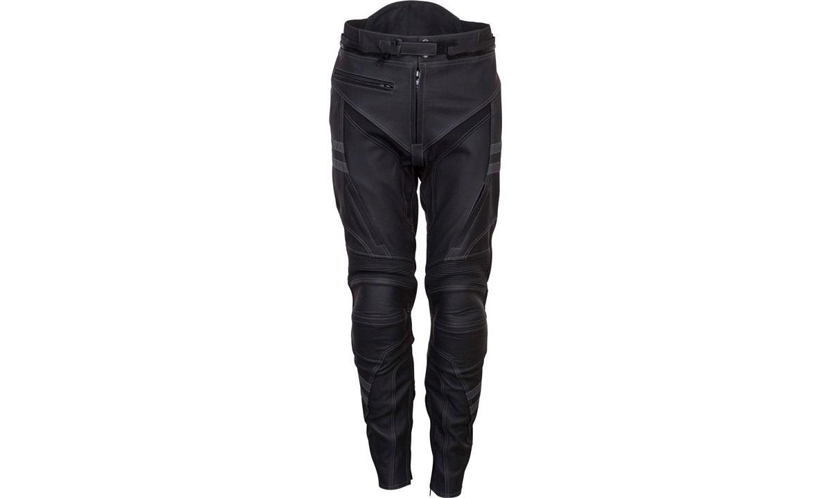 Læderbukser sort/grå OUTTREK XX-large