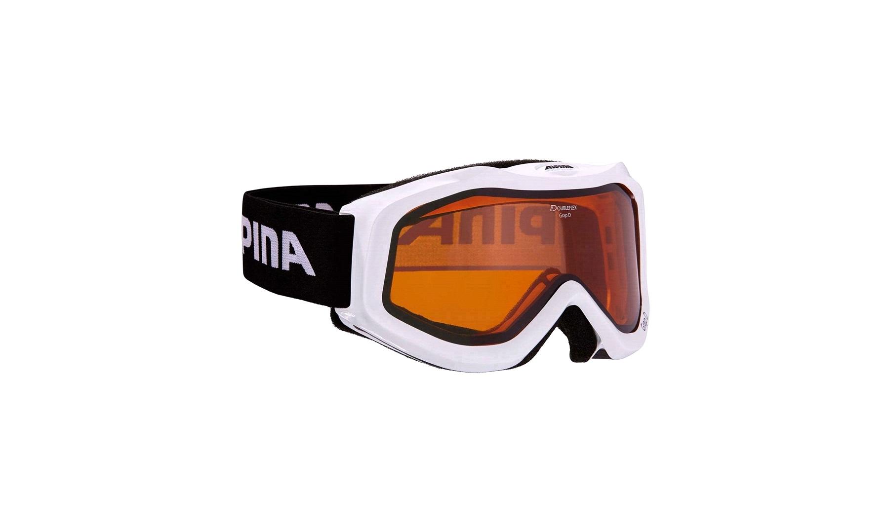 bb2a5279d ALPINA GRAP D skibriller hvid - Cross briller - thansen.dk