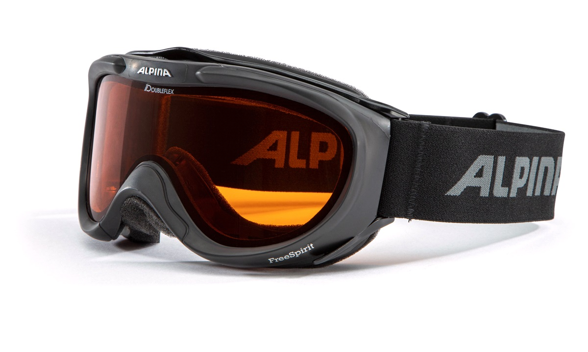 Skibriller Alpina Freespirit DH Sort