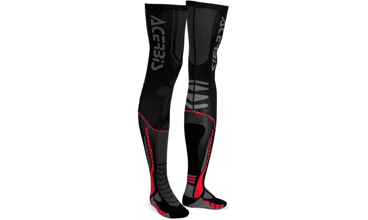 Acerbis X-leg Pro sokker, 42-44 sort/rød