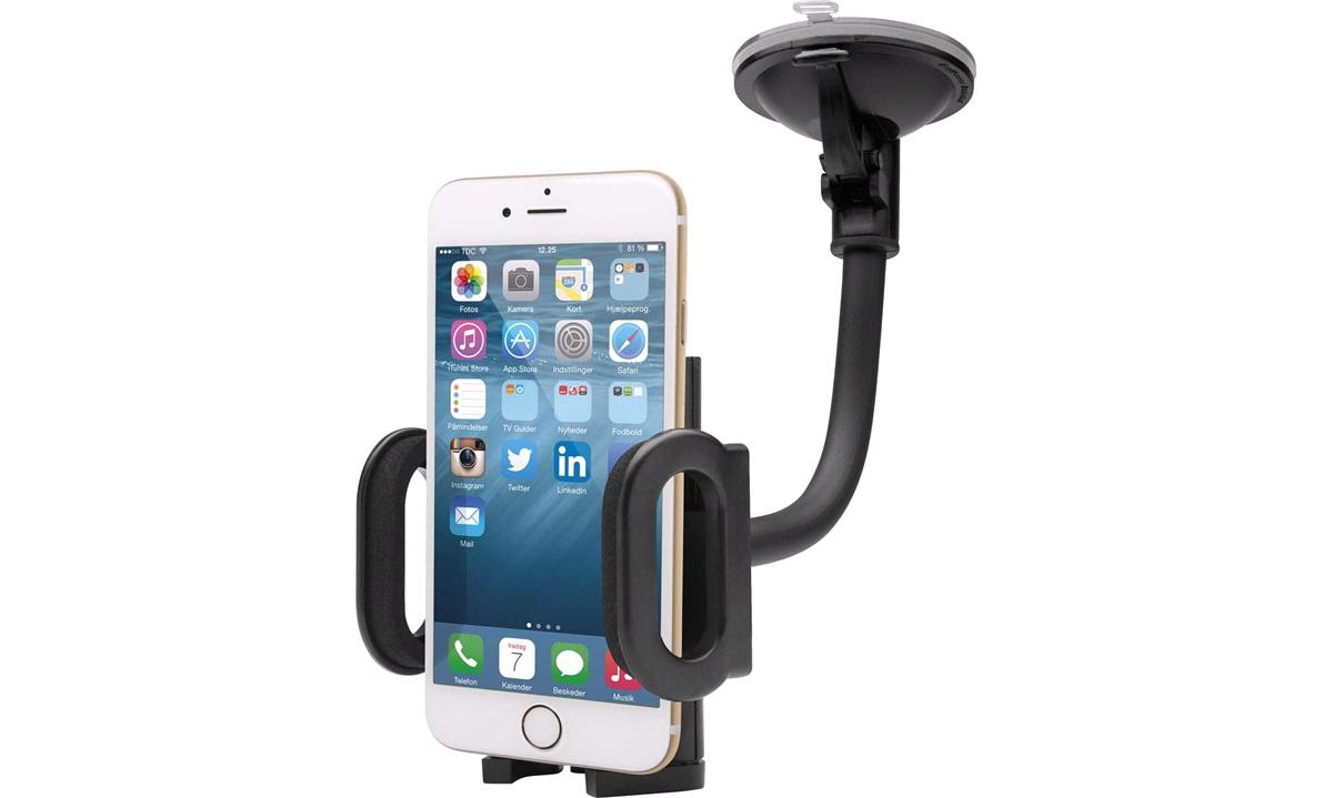 Multiholder m.svanehals, Mobil, PDA, GPS