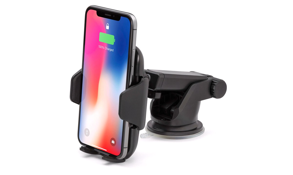 Wireless charger holder f.instrumentbord