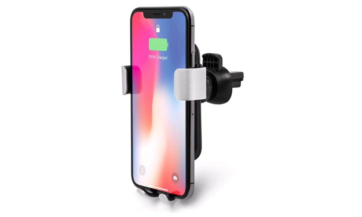Wireless charger holder t luftkanal LUX