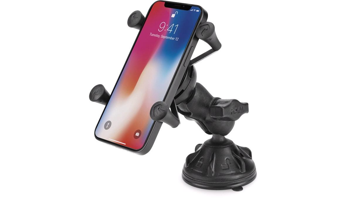 RAM Mounts X-Grip UN7 smartphone holder universal med sugekop