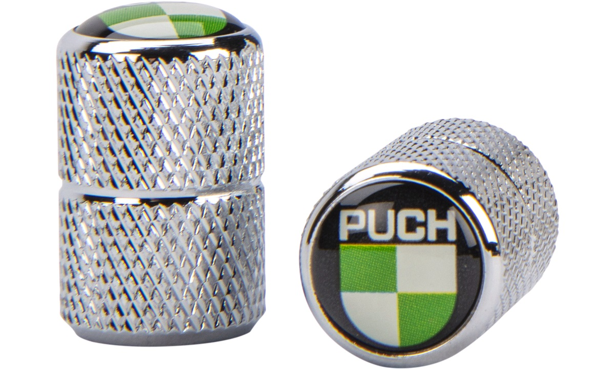 Ventilhættesæt med PUCH logo