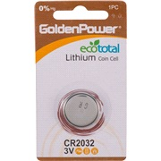 Lithium knapcellebatteri, CR2032