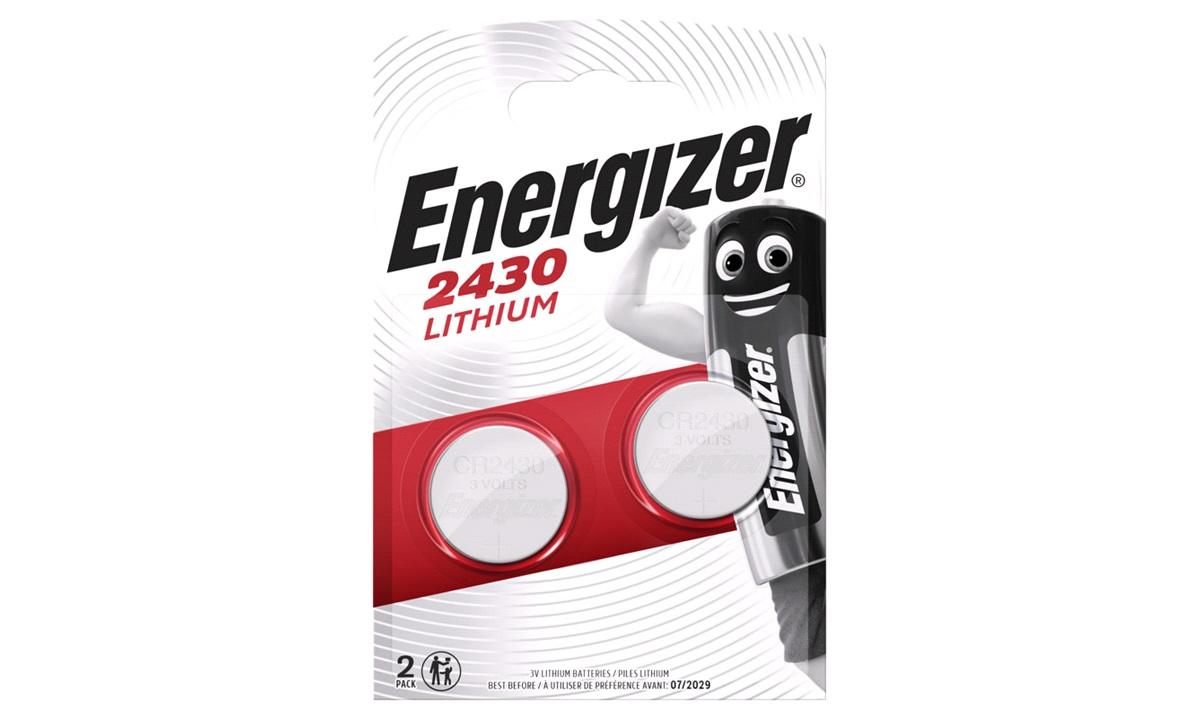Batteri, CR2430 2pak Energizer