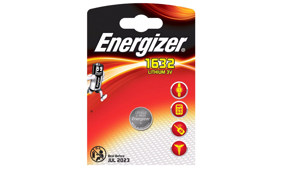 Batteri CR1632 1pak Energizer