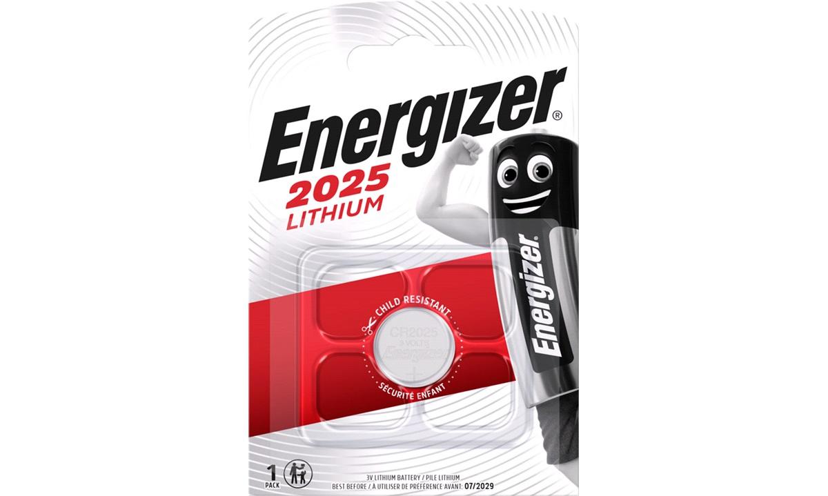 Batteri CR2025 1pak Energizer