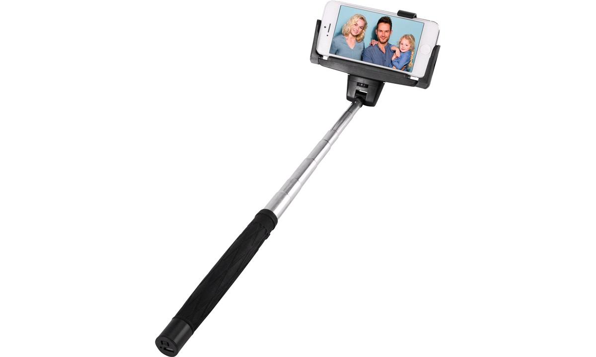 Selfie stick med remote til IOS/Android