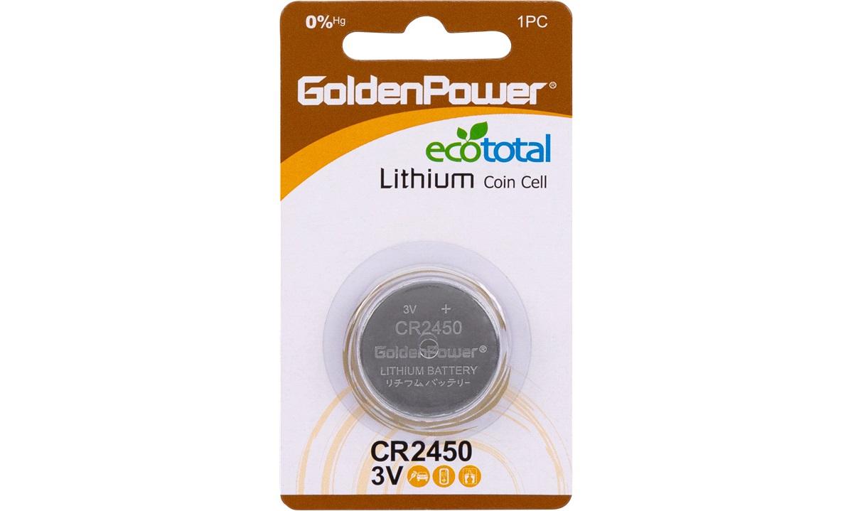 Lithium knapcellebatteri, CR2450