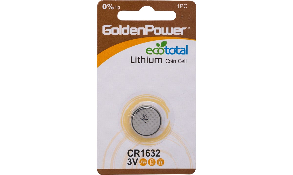 Lithium knapcellebatteri, CR1632