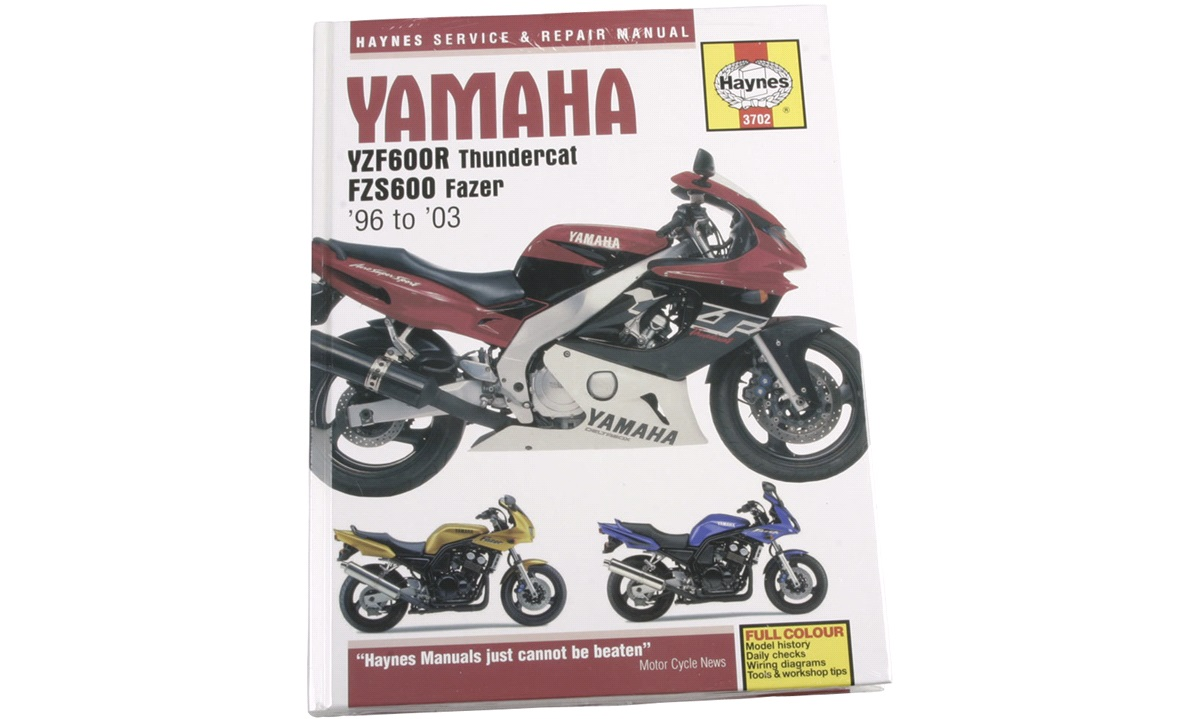 Værkstedshåndbog, YZF600R Thundercat
