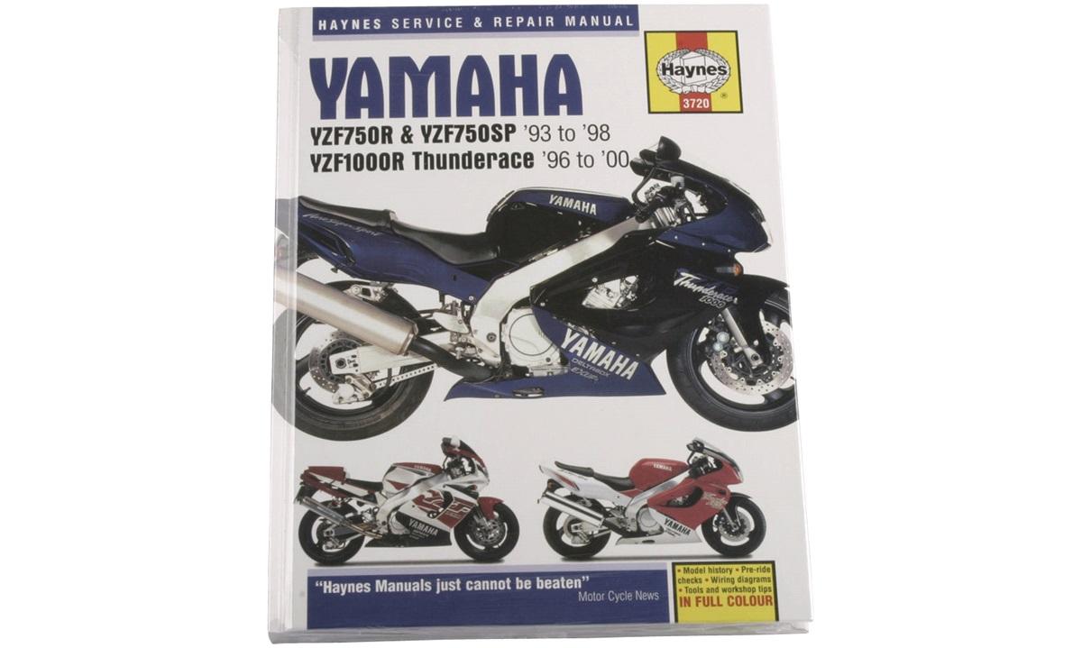 Værkstedshåndbog, YZF1000R Thunderace 96-00