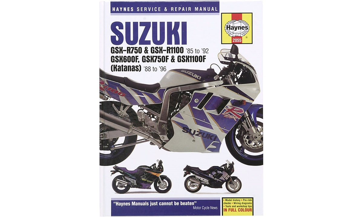 Værkstedshåndbog, Suzuki GSX/GSX-R