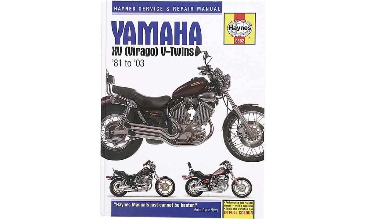 Værkstedshåndbog, XV Virago V-Twin 81-03