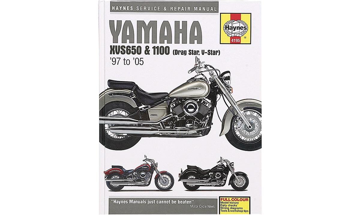 Værkstedshåndbog, XVS650/1100 97-05