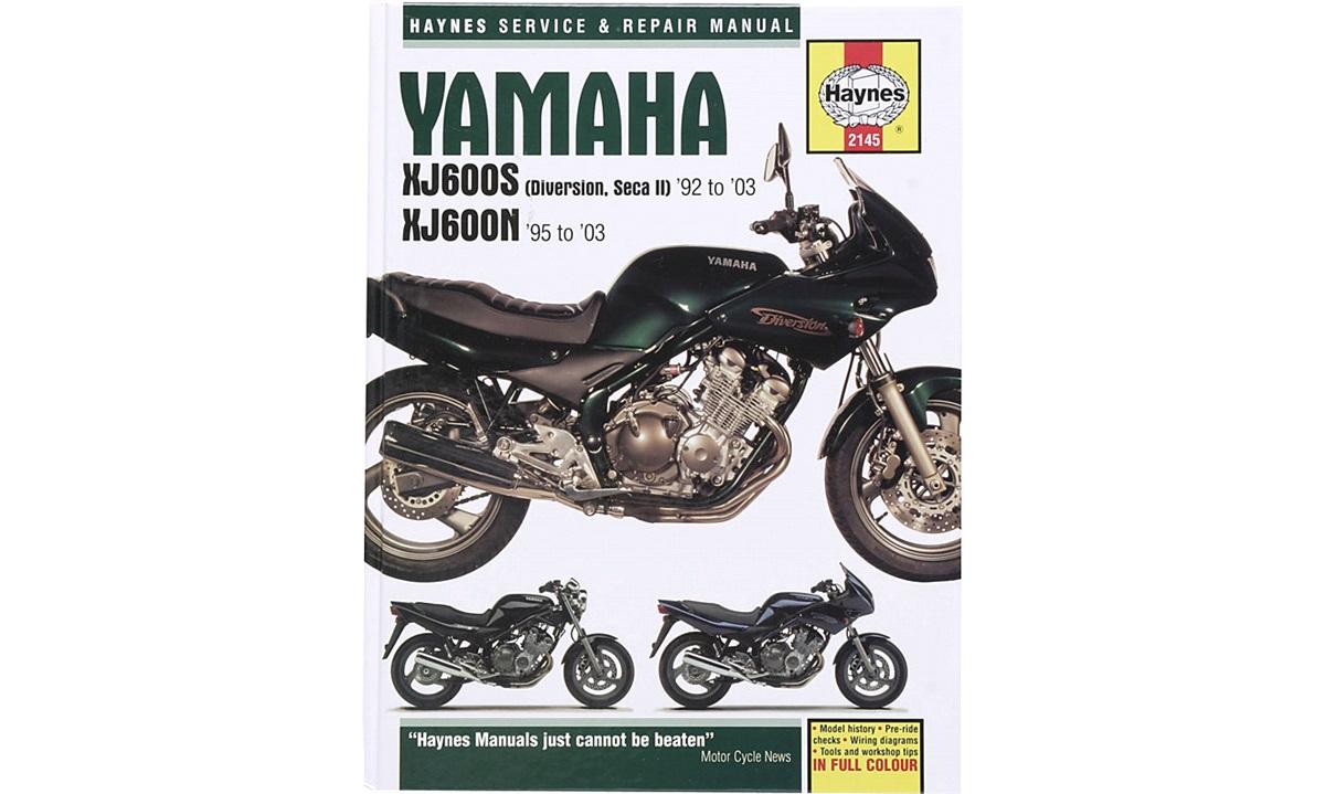 Værkstedshåndbog, XJ600S/N 92-03