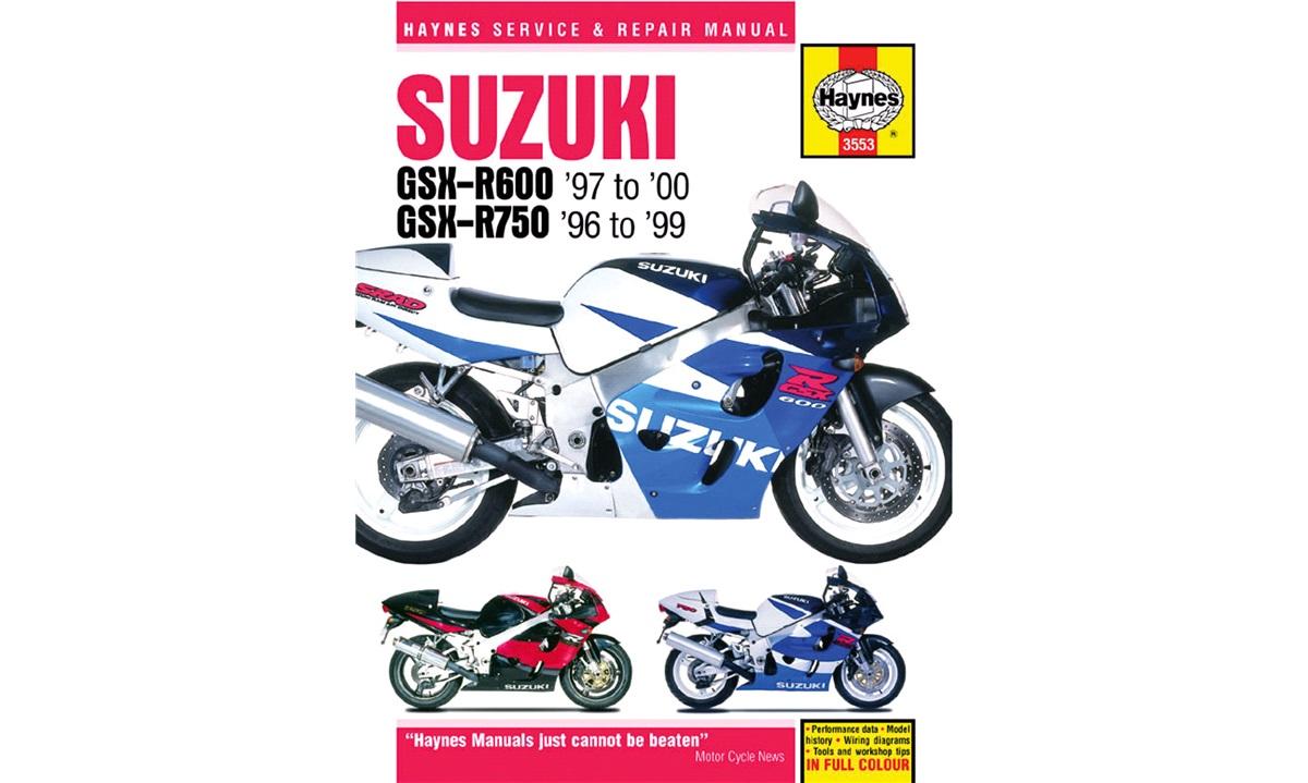 Værkstedshåndbog, GSX-R600/750 96-00