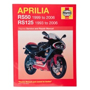 Værkstedshåndbog, Aprilia RS50/125