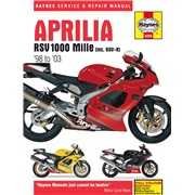 Værkstedshåndbog, RSV1000 Mille 98-03