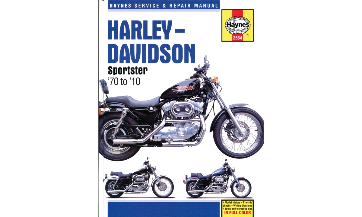 Værkstedshåndbog, Harley Sportster 70-10