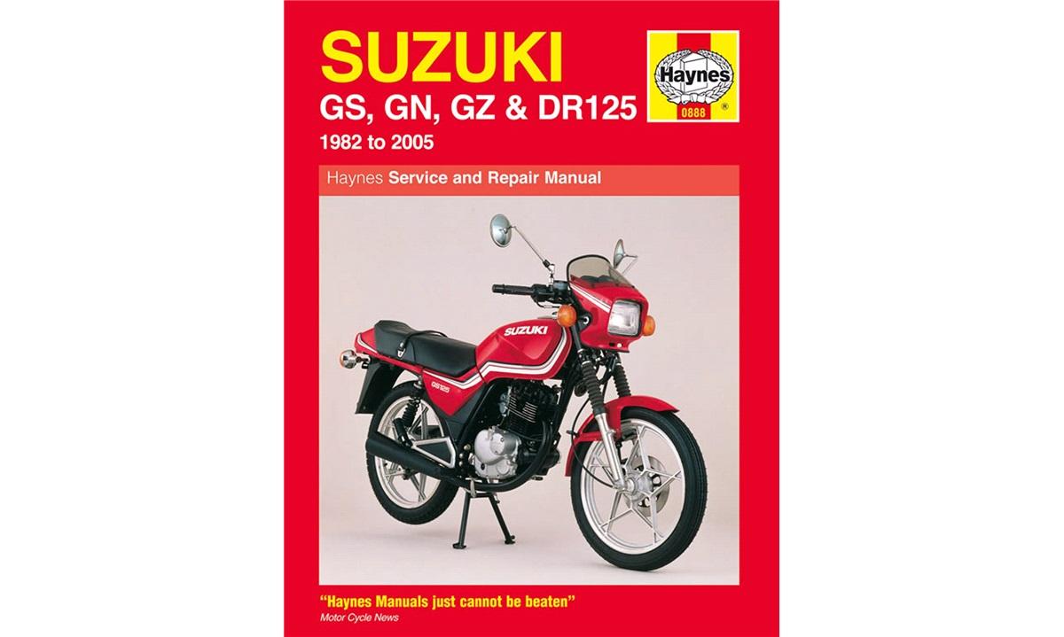 Værkstedshåndbog, GS/GN/GZ/DR125 82-05