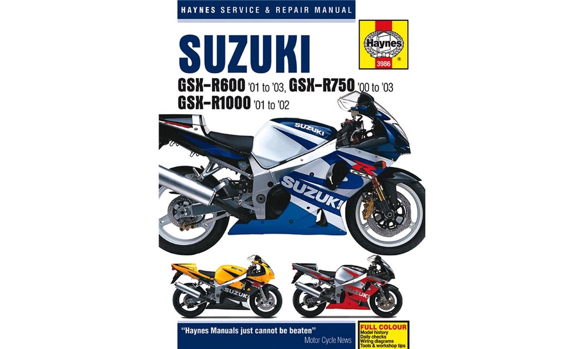 Værkstedshåndbog GSX-R600/750/1000 00-03