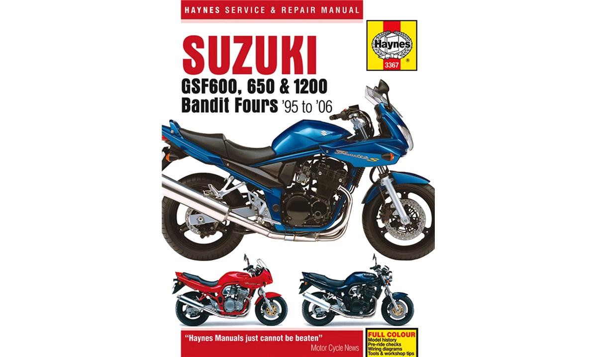 Værkstedshåndbog, GSF600/650/1200 95-06
