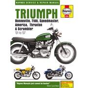 Værkstedshåndbog, Triumph Bonnev. 01-07