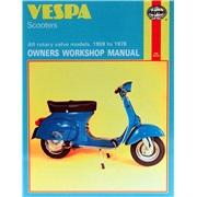 Værkstedshåndbog, Vespa Scootere 59-78