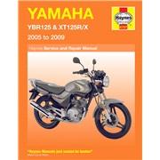 Værkstedshåndbog, YBR125/XT125R 05-09