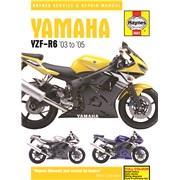 Værkstedshåndbog, Yamaha R6 03-05
