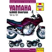 Værkstedshåndbog, XJ900S Diversion 94-01