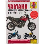 Verkstedhåndbok, Yamaha XT660/MT-03