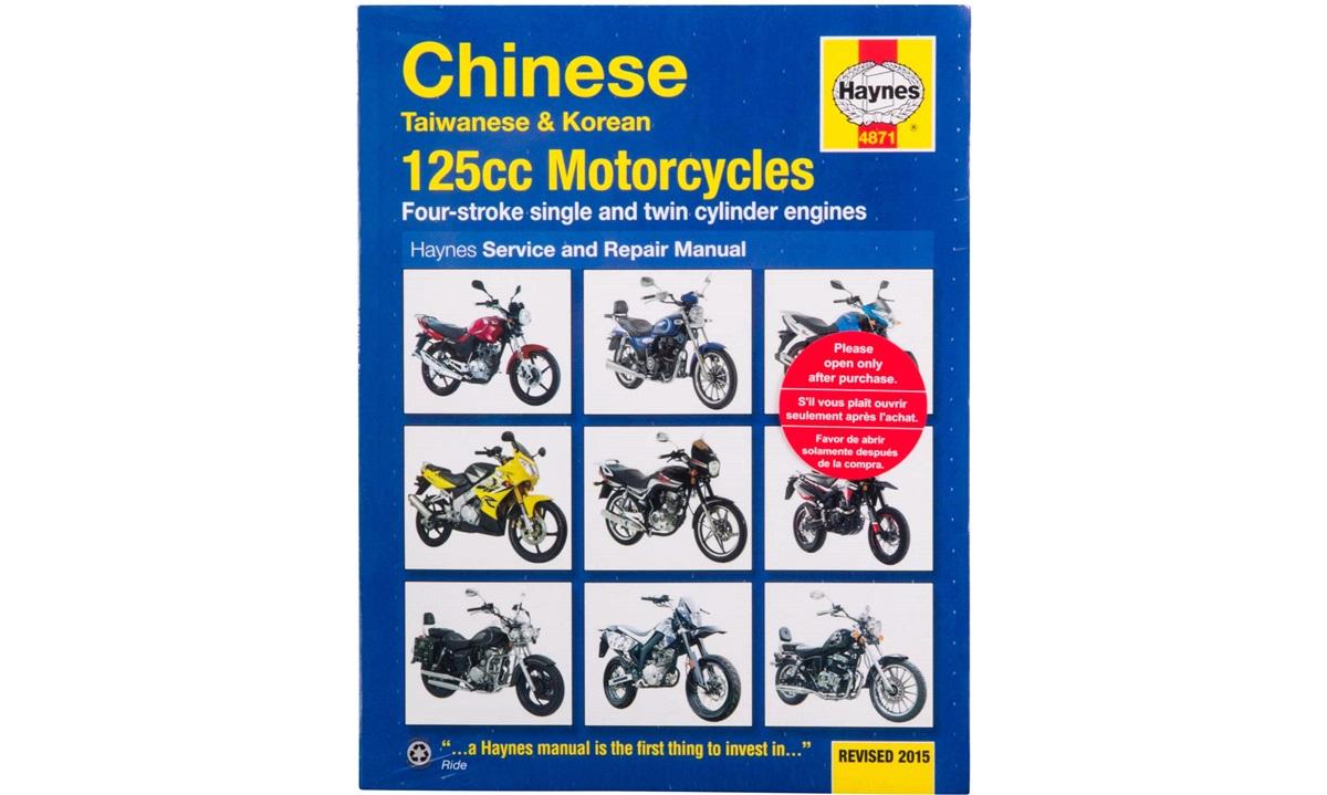 Værkstedshåndbog, Kina 125cc 4T