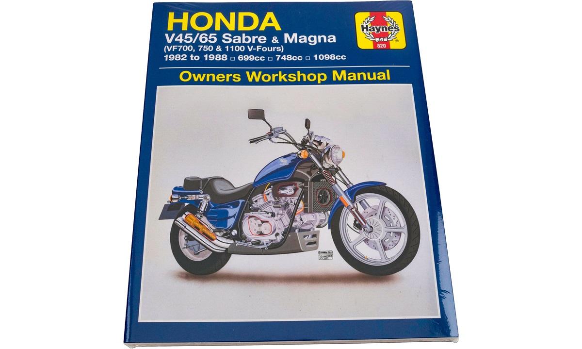 Værkstedshåndbog Honda VF750 82-88