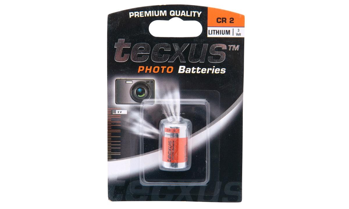 Fotobatteri, Lithium, CR2, 800 mAh